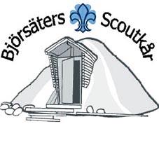 Björsäters scoutkårs logga